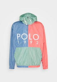 Polo Ralph Lauren - COLOR BLOCK - Windbreaker - green/blue - 5
