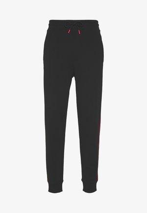 DOAKY - Pantalones deportivos - black