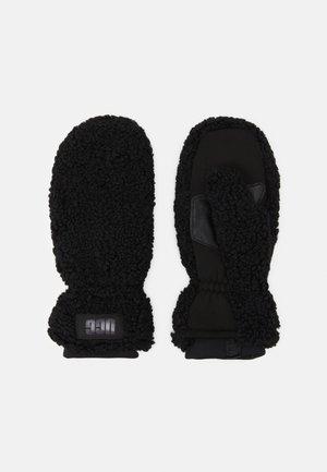 MITTEN LOGO - Moufles - black
