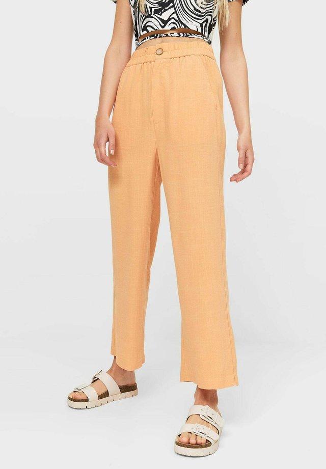 Kalhoty - orange