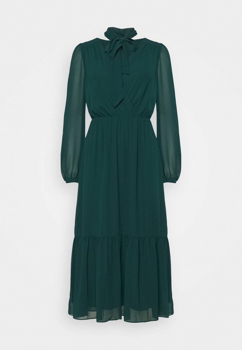 Forever New - TIE NECK MIDI DRESS - Cocktail dress / Party dress - emerald green