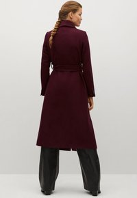 Mango - IN WICKEL-OPTIK - Winter coat - bordeaux - 2