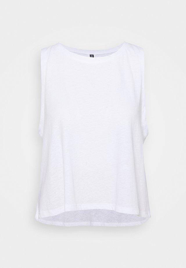 VINTAGE TANK - Top - white