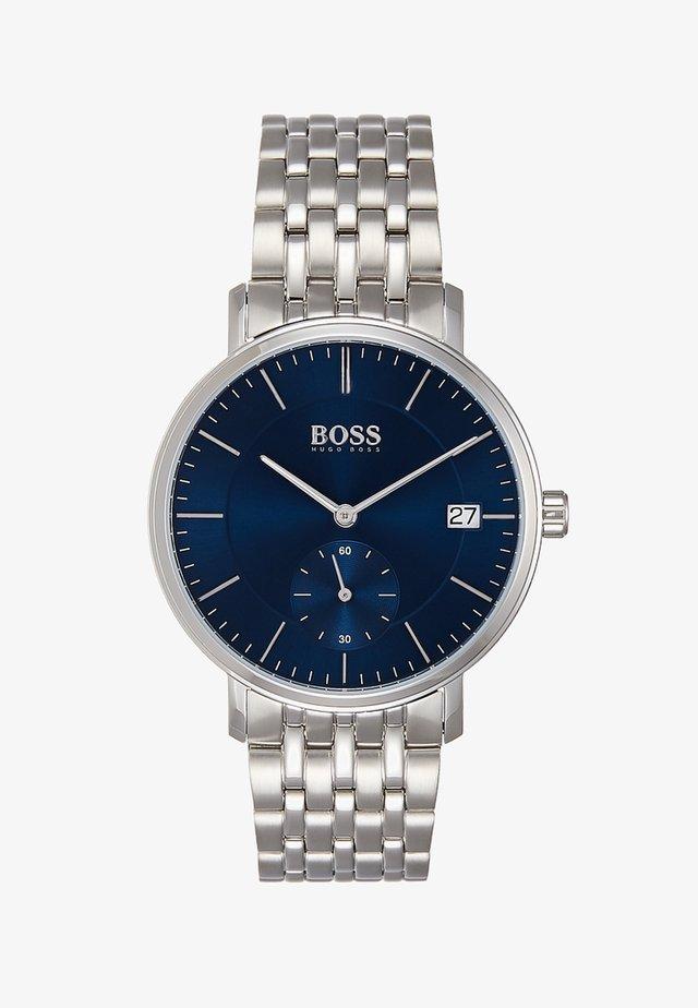 CORPORAL - Klokke - silver-coloured/blue