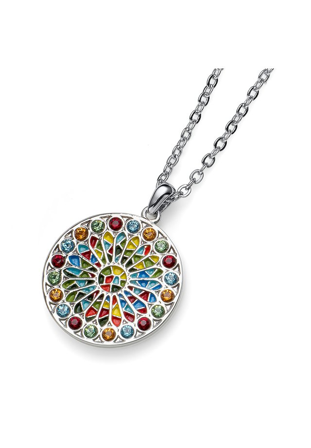 MIT ANHÄNGER VIDA MULTI - Necklace - multi-coloured