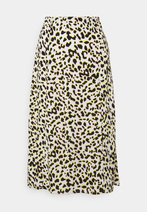 IHZEMIRA MIDI SKIRT - A-line skirt - silver pink