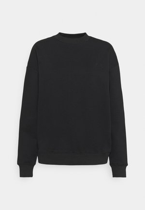 LOGO SWEATER - Sweatshirt - black