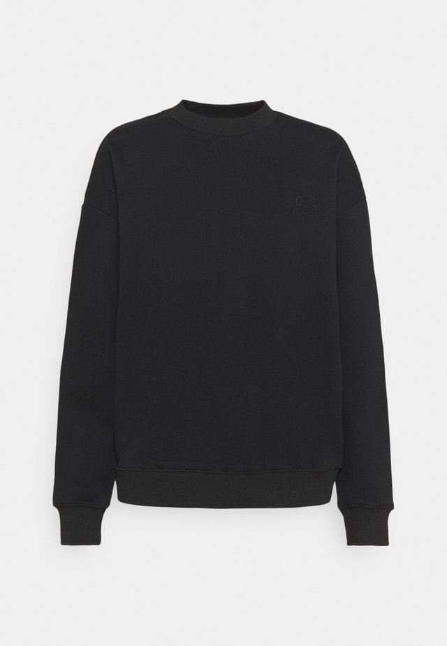 LOGO SWEATER - Mikina - black