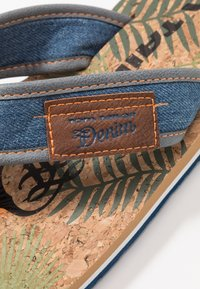 TOM TAILOR - T-bar sandals - blue denim - 5