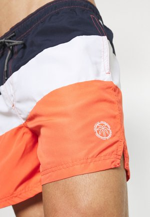 JJIBALI JJSWIM COLORBLOCK - Shorts da mare - hot coral