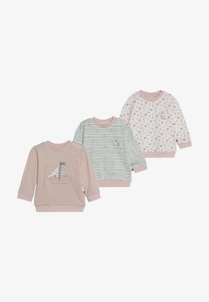 PACKCOUCOU 3 PACK - Long sleeved top - light pink