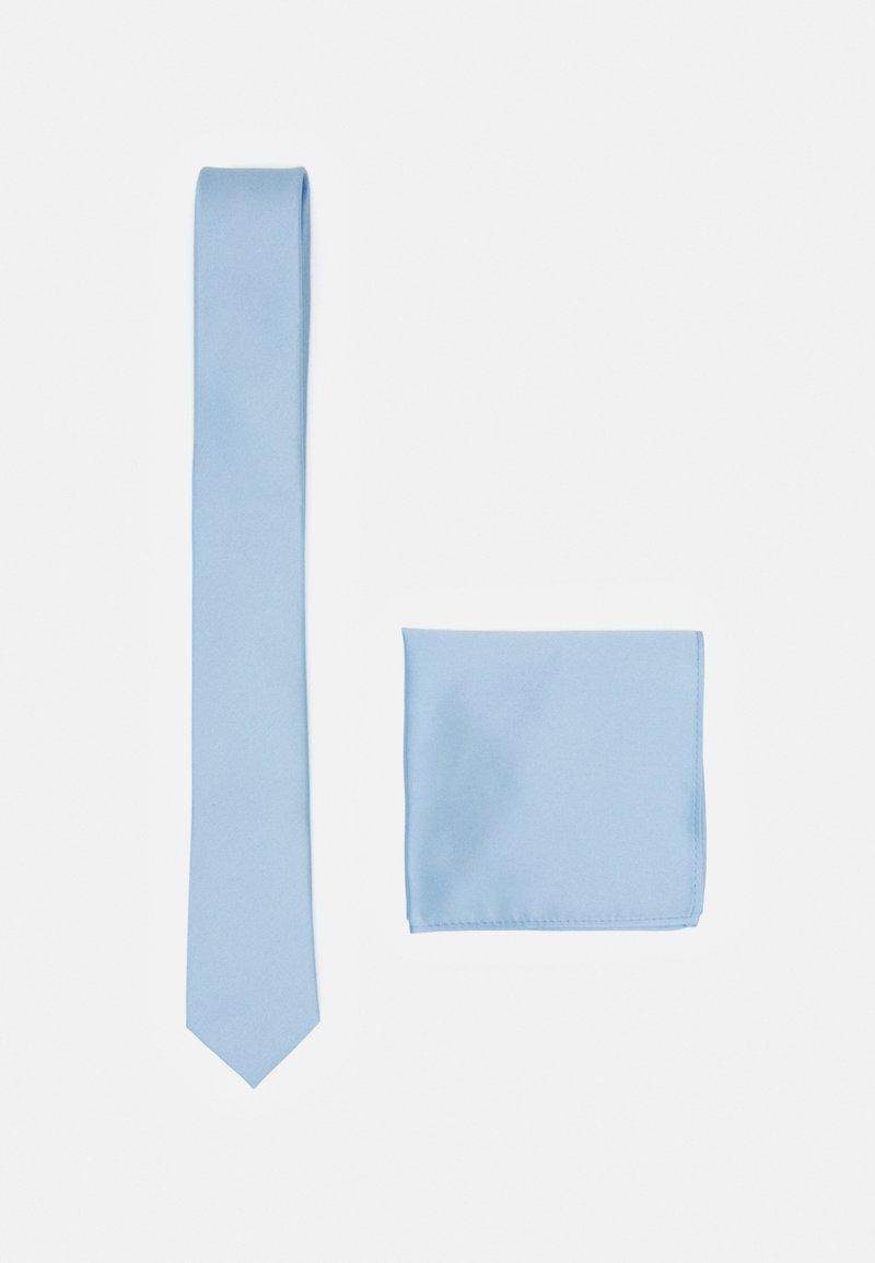 Pier One - SET - Kapesník do obleku - light blue