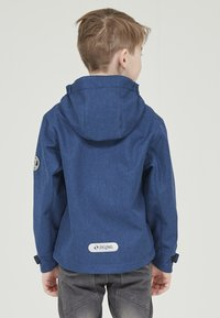 ZIGZAG - MANON MELANGE WATERPROOF - Light jacket - 2012 true blue - 3