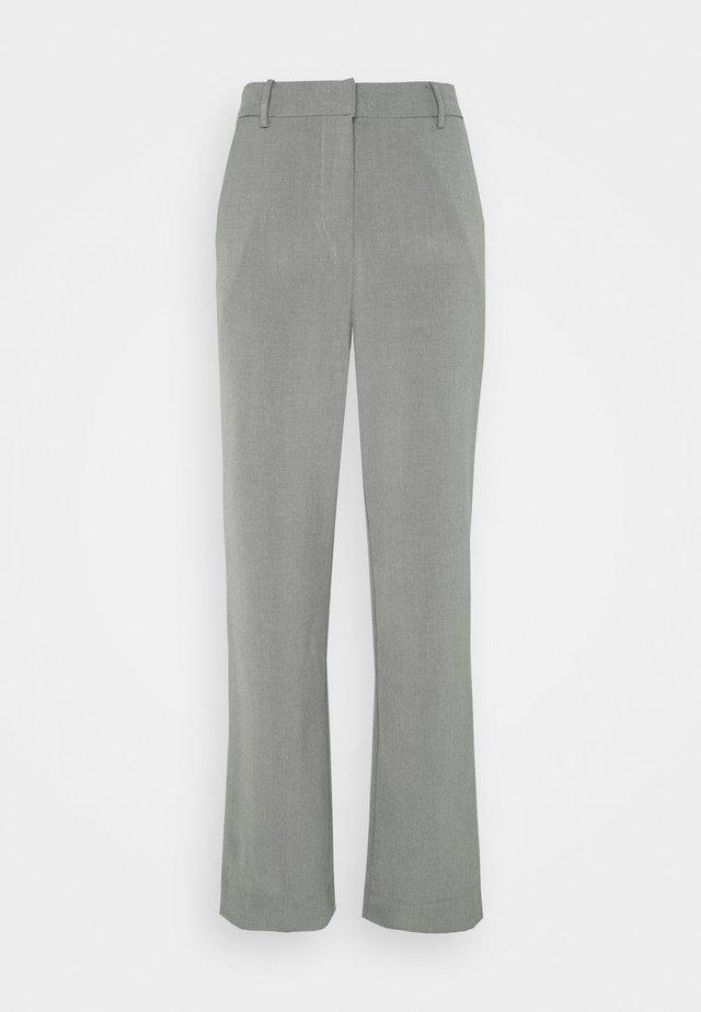 KAFIR PANTS - Bukse - grey melange