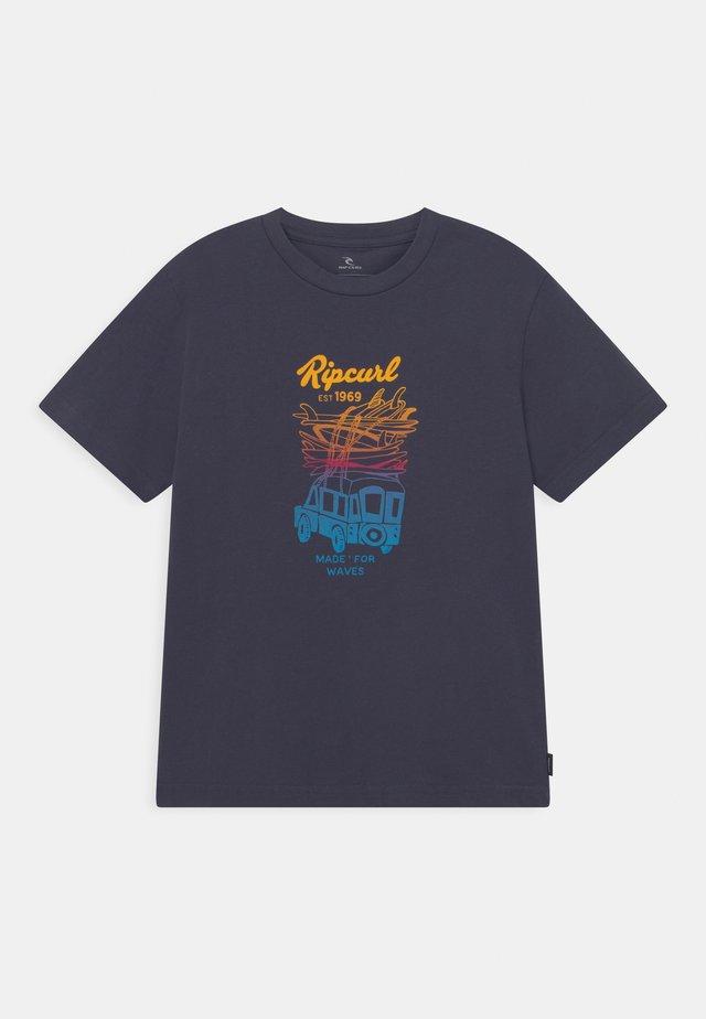 TRUCKITO UNISEX - T-shirt print - navy