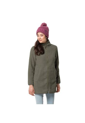 Fleece jacket - grape leaf