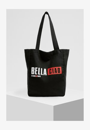 LA CASA DE PAPEL - Shopping bag - black
