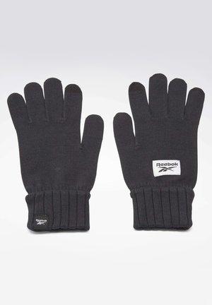 ACTIVE FOUNDATION KNIT GLOVES - Gloves - black