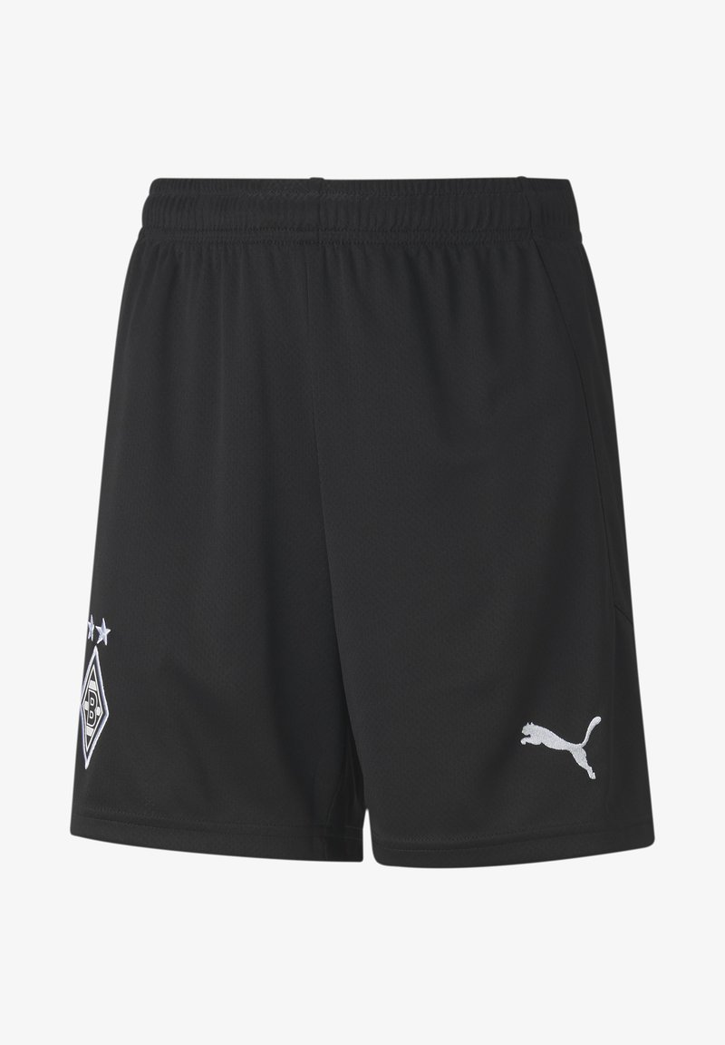Puma - PUMA BORUSSIA MÖNCHENGLADBACH AWAY REPLICA YOUTH  - Sports shorts - puma black-puma white