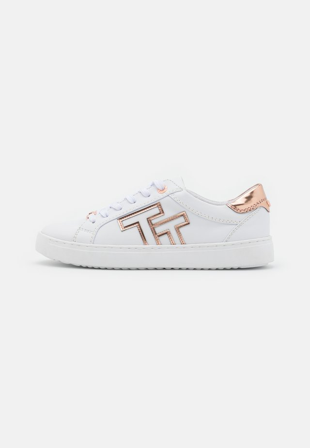 Sneakers laag - white/rose gold