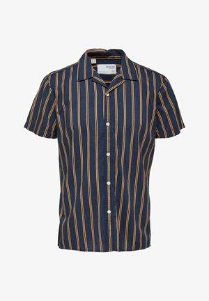 Shirt - navy blazer/stripes