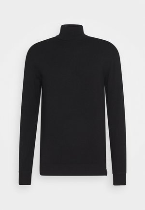 CLASSIC TURTLENECK - Jumper - black