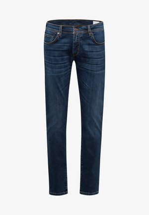 Jeans Tapered Fit - blue used baffies