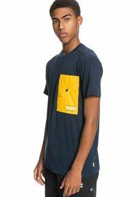 Quiksilver - Print T-shirt - navy blazer - 3