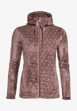 SKOMER - Fleece jacket - dusty rose