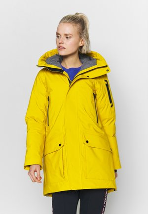 Parka - yellow flow