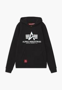 Alpha Industries - BASIC HOODY - Hoodie - black - 0
