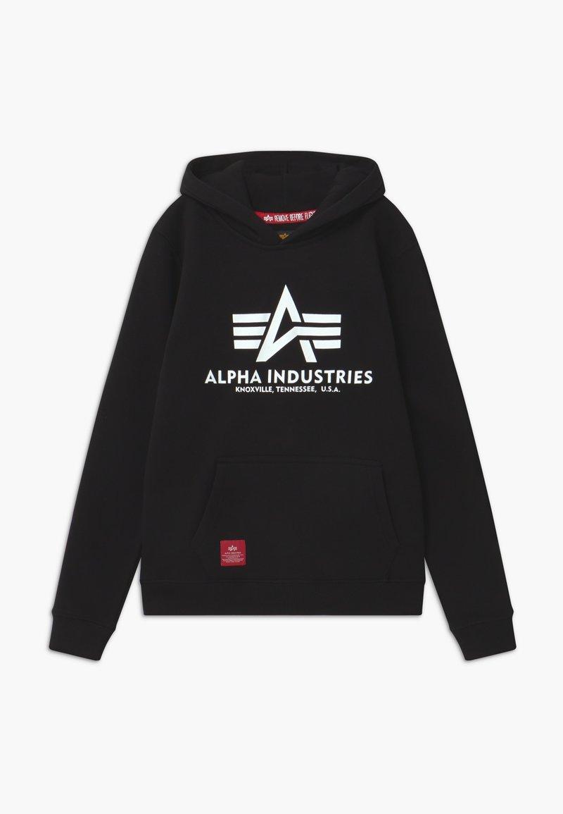 Alpha Industries - BASIC HOODY - Hoodie - black