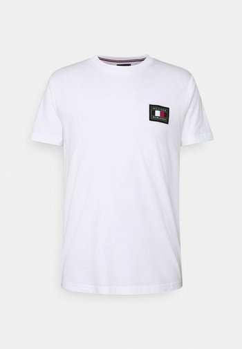 ICON ESSENTIALS TEE - T-shirt med print - white