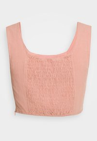 Glamorous - BUSTIER CROP TOP WITH WIDE STRAPS - Bluzka - pink - 1