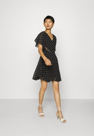 ELLA  - Day dress - black/white