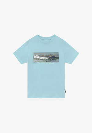 INVERSE TEE BOY - Print T-shirt - coastal