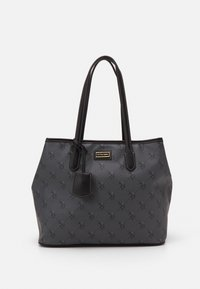 HAMPTON SHOPPING BAG PRINTED - Shopping bag - black