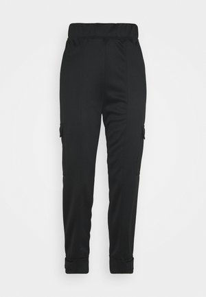 PANT - Bukse - black/white