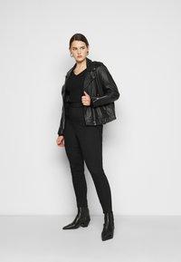 New Look Curves - LIFT AND SHAPE - Kalhoty - black - 1