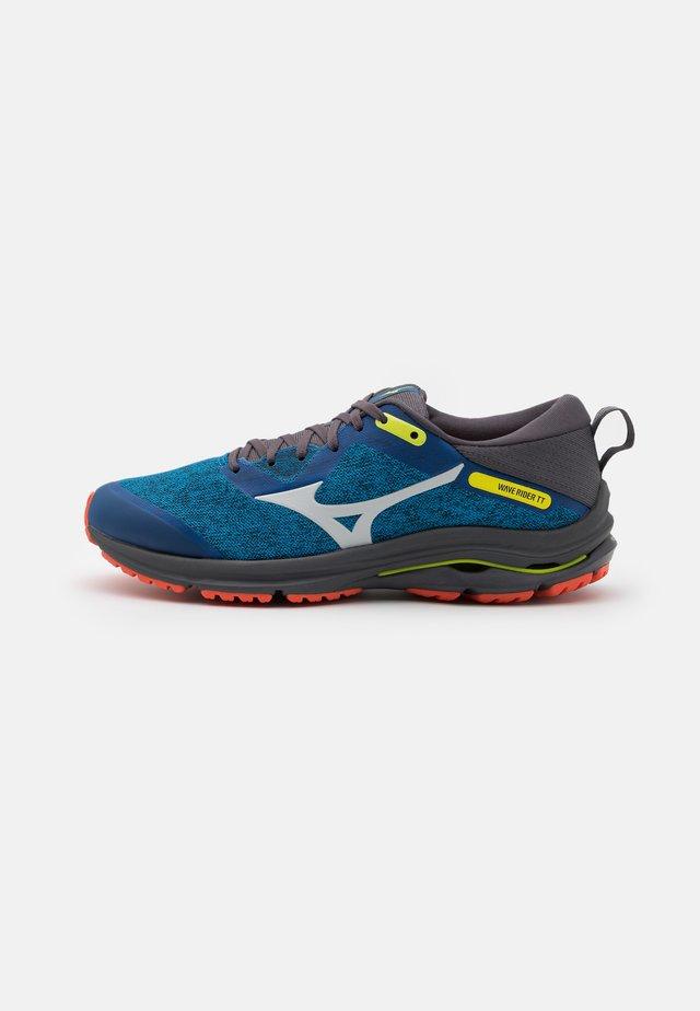 WAVE RIDER TT 2 - Chaussures de running - directoire blue/dawn blue/mandarin red