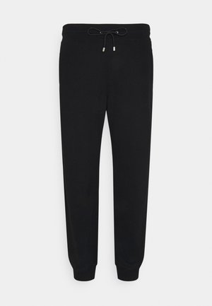 BIG TALL - Tracksuit bottoms - black