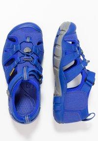 Keen - SEACAMP II CNX - Chodecké sandály - bright blue - 0