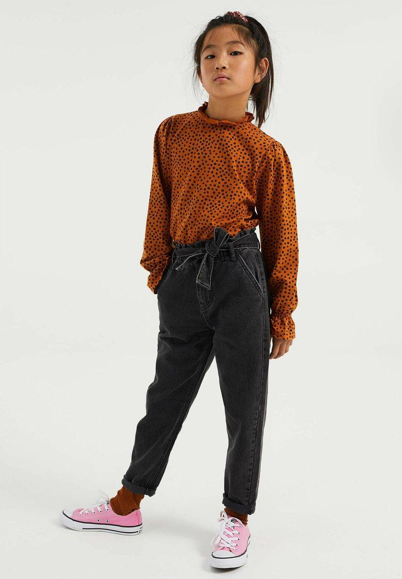 WE Fashion - Straight leg jeans - black