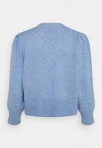 JDY - Cardigan - brunnera blue melange - 1