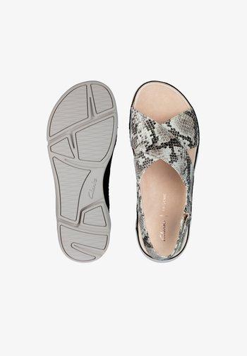 TRI ALEXIA - Sandals - grau