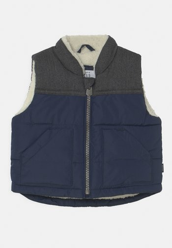 VEST - Waistcoat - navy base blue