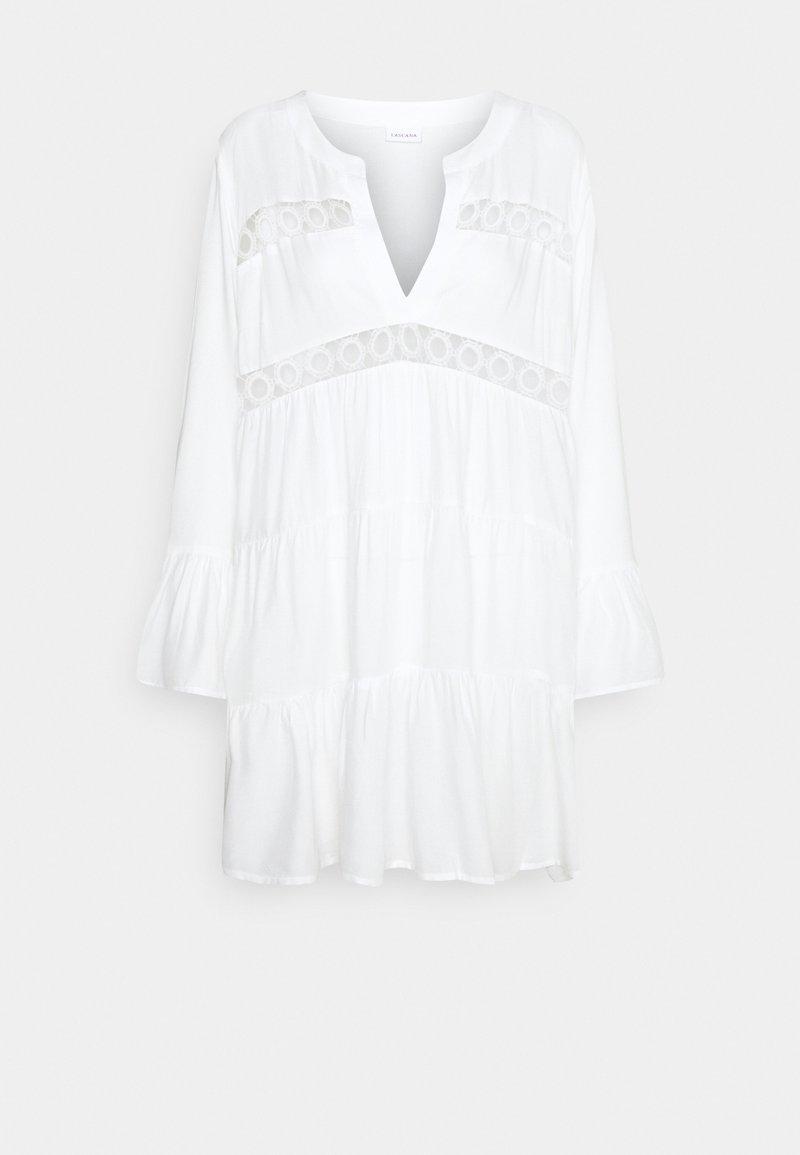 LASCANA - TUNIC - Beach accessory - weiß