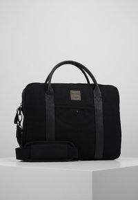 Jack & Jones - JACCANVAS BRIEFCASE - Briefcase - black - 0