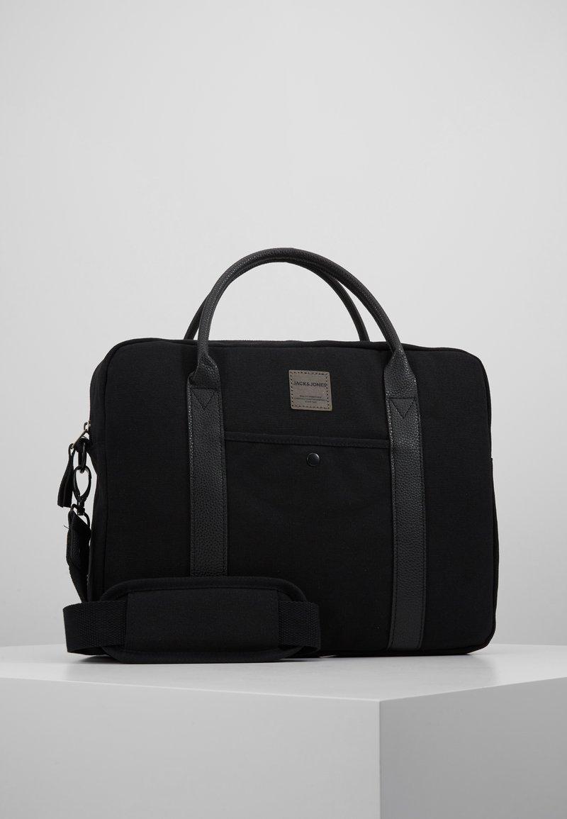 Jack & Jones - JACCANVAS BRIEFCASE - Briefcase - black