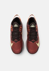 Nike Performance - PEGASUS TRAIL 2 - Trail running shoes - claystone red/life lime/velvet brown/healing orange/black/college grey - 3